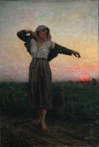 Jules Breton - La Glaneuse Lasse