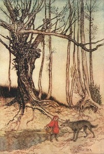 Arthur Rackham - Little Red Riding Hood