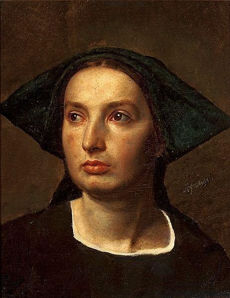 Brodowski - Portrait of a woman