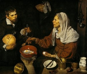 Diego Velazquez 'An Old Woman Cooking Eggs'