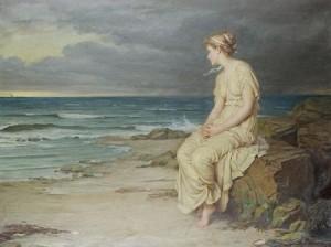 Miranda - by John William Waterhouse