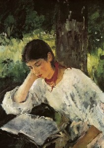 Portrait of Adelaida Simonovich