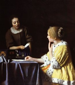 Vermeer_Lady_Maidservant_Holding_Letter