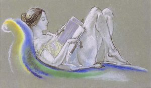 arthur_b-_davies_-_reclining_woman_drawing_1911